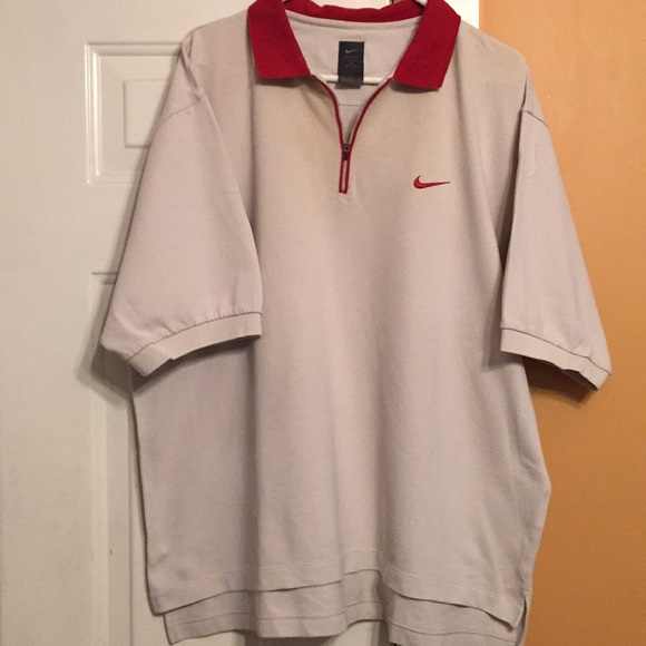5bed4d692 Nike Shirts | Tiger Woods Original Logo Polo Xl | Poshmark